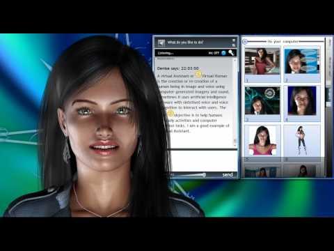 Virtual Assistant Denise 1.0 - Guile 3D Studio - Part 1