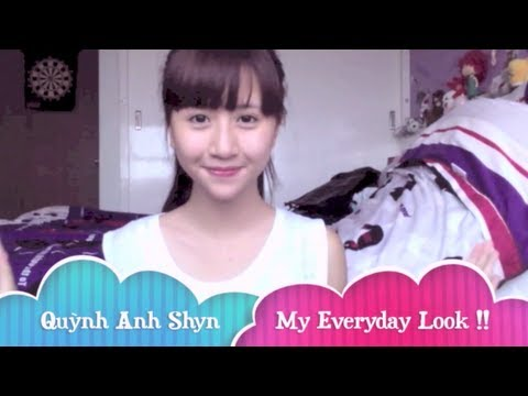 [Make up] My Everyday Look !! - Quỳnh Anh Shyn