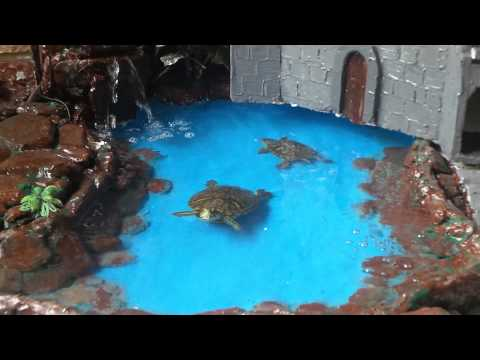 Waterfall for turtles.