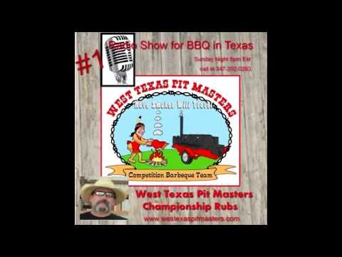 West Texas Pit Masters Sunday Night at 8pm