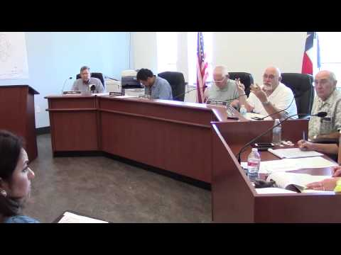 Karnes County Commissioners Court - July 23, 2015 - Part 1 of 2