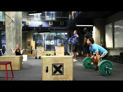 CrossFit - WOD 121005 Demo with Xplore CrossFit