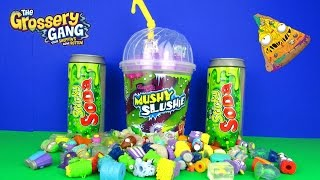 The Grossery Gang Mushy Slushie Collectors Cup Surprises Unboxing Video by Moose Toys