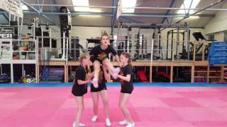Youth 1 stunt group sequence - Clemmie's team