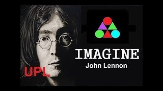 John Lennon - Imagine Lyrics UPL