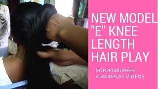 "New Model ""E""// Knee length Long Hair Play//88862 18625 contact us"