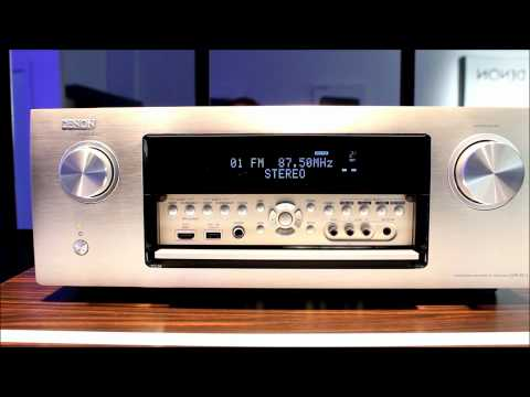 Denon AVR-3313 First Look Munich High-End 2012