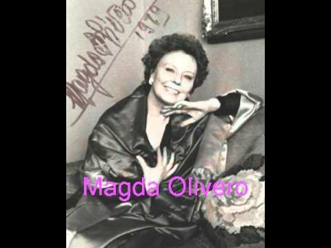 Magda Olivero – Poveri fiori – da ópera Adriana Lecouvreur, de Cilea.