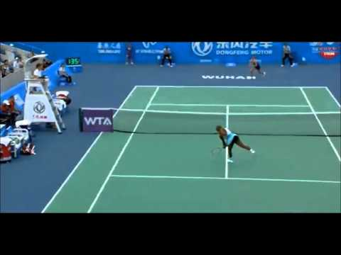 Serena Williams vs Alize Cornet 2014 - Highlights - Dongfeng Motor Wuhan Open