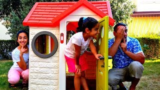 Esma Asya and Daddy Hide and Seek for kids video