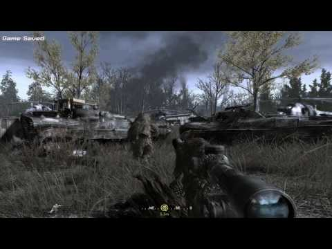 Call of Duty 4 [HD] Modern Warfare / All Ghillied Up [1]