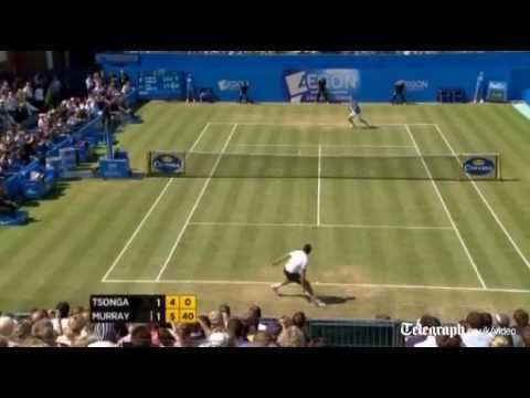 Aegon Tennis Championship highlights: Andy Murray beats Jo-Wilifried Tsonga