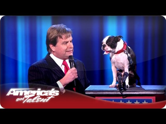 Dog Ventriloquist Todd Oliver - America's Got Talent Wild Card Show