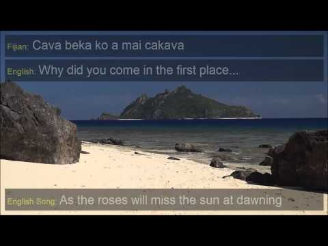 Isa Lei - The Fijian Farewell Song with English Translation and English Version