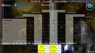 AoE 22 Random Tiểu Màn Thầu, Đức Anh vs VaneLove, Xi Măng Ngày 08-06-2018