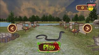 Trò chơi Con rắn khổng lồ săn mồi con cá sấu và vịt trên sông cu lỳ chơi game vui nhộn funny gamepla