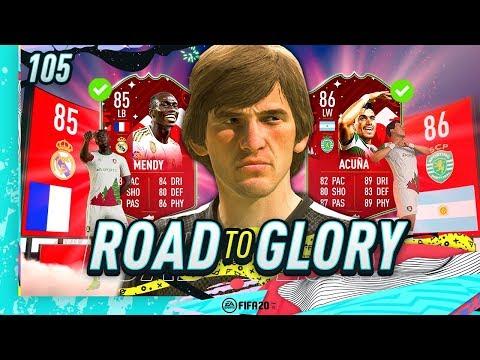 FIFA 20 ROAD TO GLORY #105 - I GOT FUTMAS MENDY & MORE!