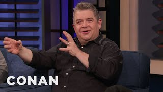 """Patton Oswalt: """"Happy"""" Is The Most Messed Up Show I've Ever Been A Part Of - CONAN on TBS"""