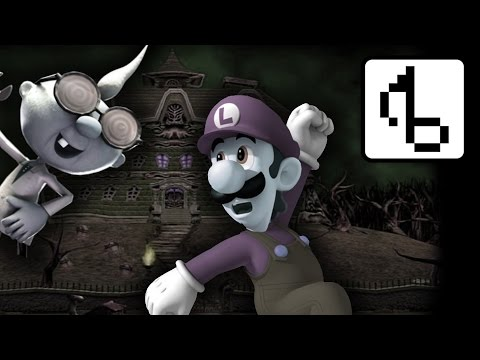 Luigi's Mansion WITHOUT LYRICS (Main Theme Remix) - brentalfloss