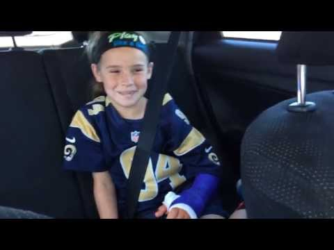 St. Louis Rams Defend Our Turf Radio Spot (with the voice of My Daughter Delaney Smith)
