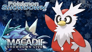 Macadii's Christmas Special Live! (Pokemon Showdown ORAS Smogon PU)