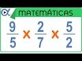 Multiplicación De 3 Fracciones | Aritmética   Vitual