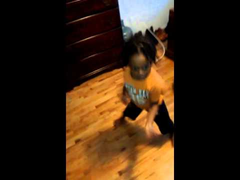 Mother An 2 Year Son Old Dance Bottle video