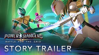 Power Rangers: Battle for the Grid - Story Trailer (Free Update)