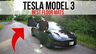 BEST TESLA MODEL 3 FLOOR MATS (Bought on Amazon)