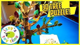 TOYS FOR KIDS! BLIND BAG 3D TREE PUZZLE ARTS AND CRAFTS PROJECT! Father and Son Playtime