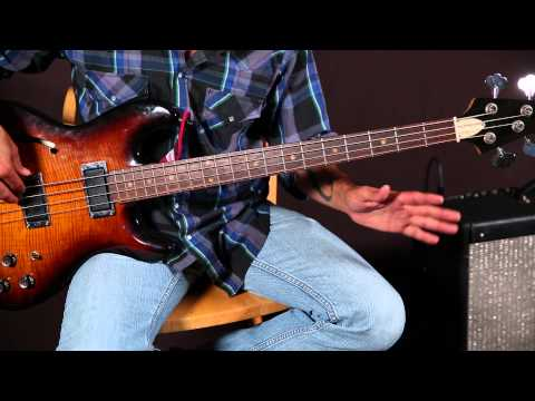 Bass Guitar Lessons - Bass Lines - Ray Charles Inspired - Blues - Soul video