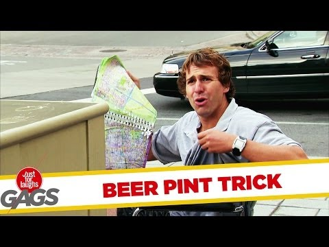 Beer Pint Trick Gone Wrong!