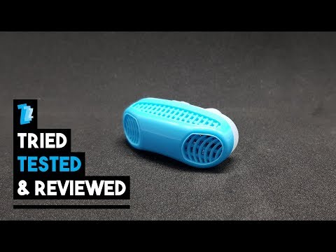 2 In 1 Anti Snoring & Air Purifier - Tested & Reviewed