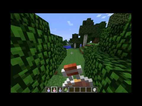 Minecraft Mod Review   Status Effect Hud 1.3.2