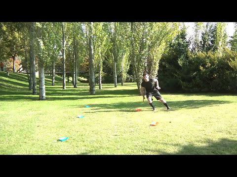 Ejercicios de agilidad y velocidad con conos