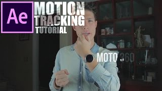 Efecto de seguimiento After Effects | Motion Tracking