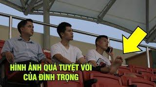 Ted Trần xúc động rơi nước mắt hình ảnh Đình Trọng chống nạng đi xem đàn em thi đấu