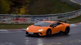 Nordschleife 10 11 2018 - Wet Highlights, Powerslides & Slippery Action Touristenfahrten Nürburgring