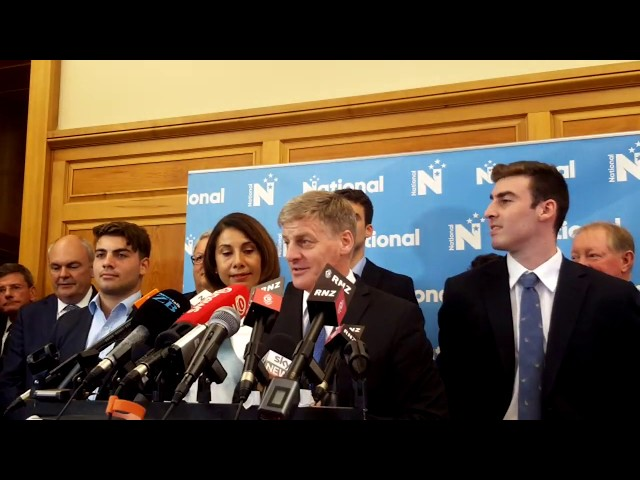 Bill English resigns as National Party leader