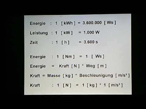 OUPAWO  - Overunity im Luft-Wasser-Kraftwerk  Teil 1  wiss. Grundlagen