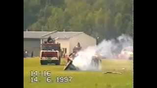 Lynx Crash Poland 1997