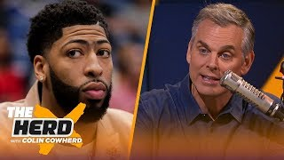 Colin on KD: Playing hurt is just 'part of the business,' talks AD-Lakers rumors | NBA | THE HERD