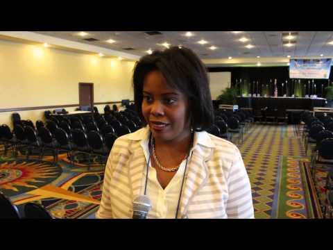 Haiti's Secretary of State for Tourism, Jessy Menos