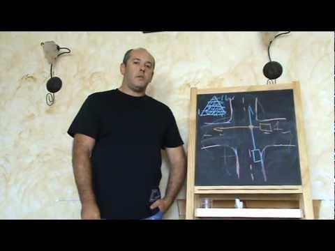 Теория вождения: Правила преимущества движения на перекрестке