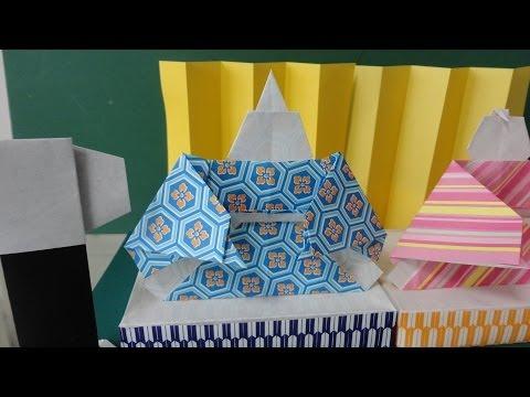 折り方 雛人形折り紙折り方立体 : ... とお雛様」の簡単な折り方