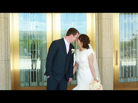 Unique Utah Wedding Video at Ogden Utah LDS Temple Wedding Video