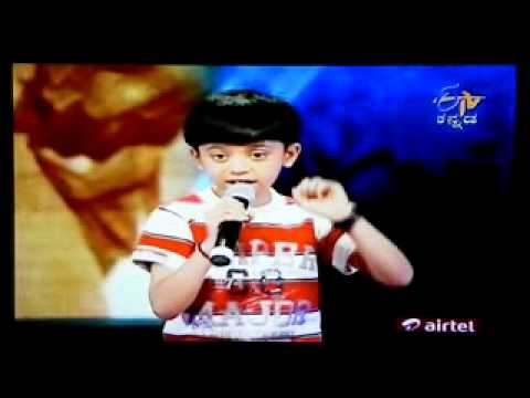 M Suhas on Yede Thumbi Haduvenu... Finals (Telecast on 28Aug2011...