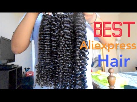 BEST Curly Hair: AS Hair (Aliexpress) Initial Review