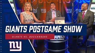 Giants Postgame Show (Film Room, Analysis, Highlights vs. Buccaneers)