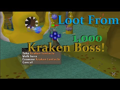 Loot From 1000 The Kraken! Tentacle!!( ͡° ͜ʖ ͡°)